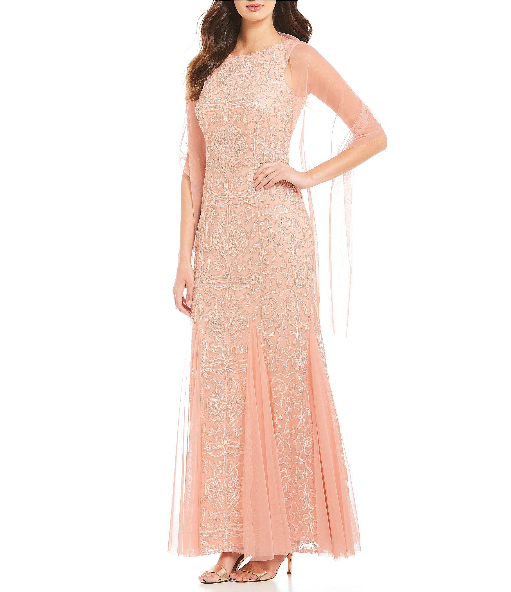 a720a8952f Shop for Emma Street Sleeveless Boat Neck Long Lace Dress at Dillards.com.  Visit Dillards.com to find clothing