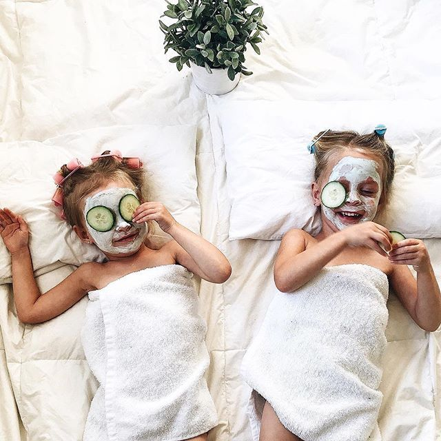 """Cute idea to do with daughter. """"Spa Date"""" to a hotel, go in pool/wear robes. Rent in girly movie for night time, snacks & cuddles. In the morning, go for waffles & smoothies and go for a walk ♥️"""