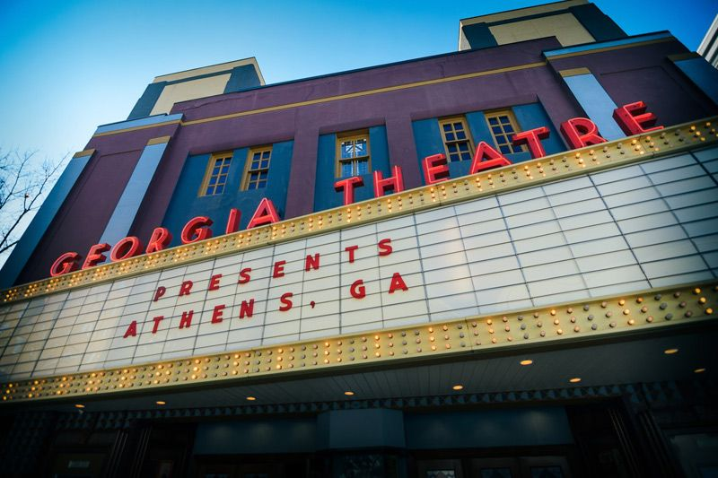 georgia theatre is athens georgia top event venue located in downtown athens come enjoy a show or have a drink athens private event space rehearsal dinners pinterest