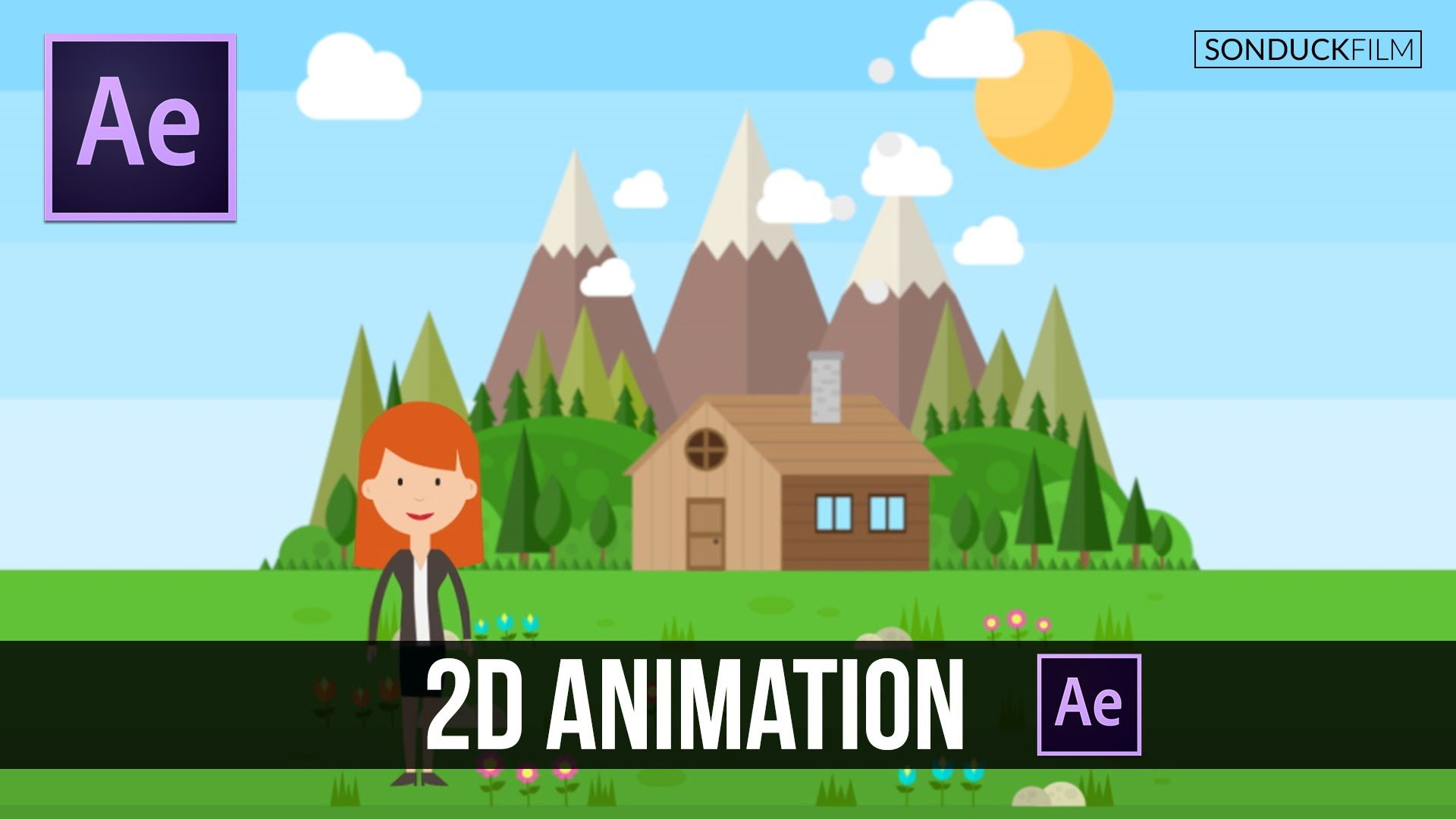After Effects Tutorial Easy 2D Animation Vector