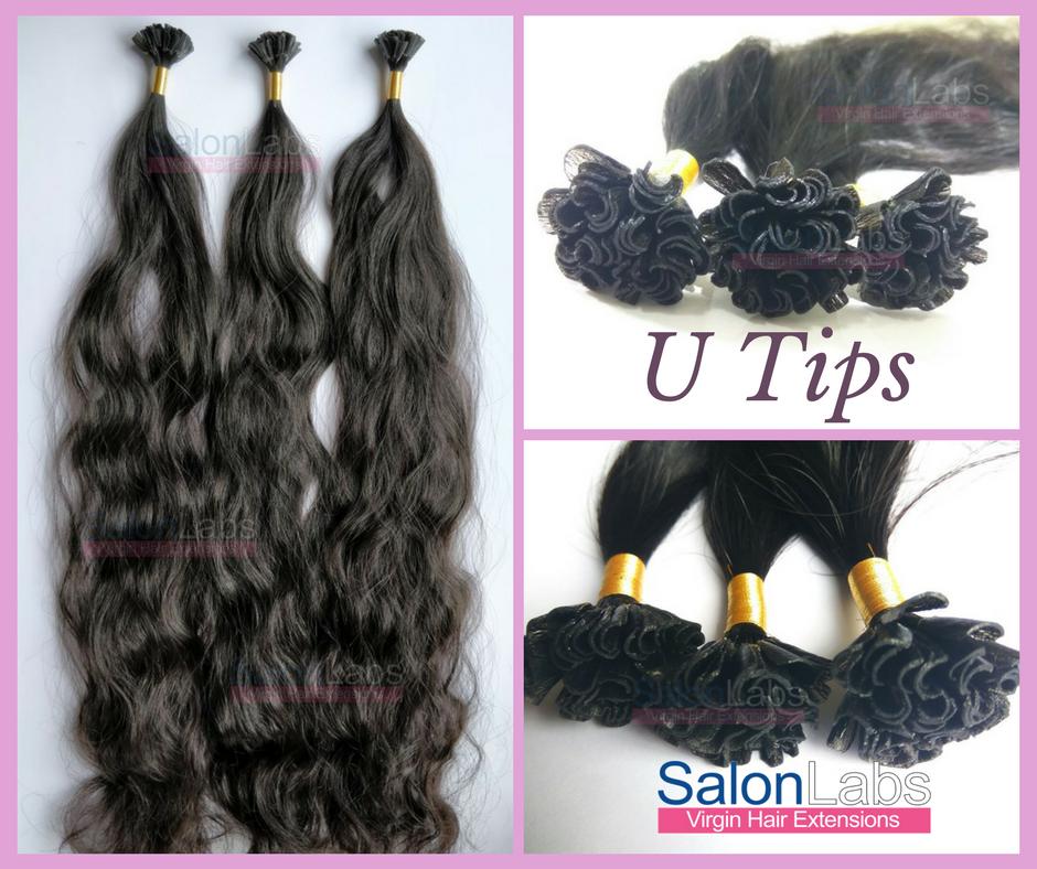 Pre Bonded Fusion Keratin Tips Hair Extensions U Tips Finally
