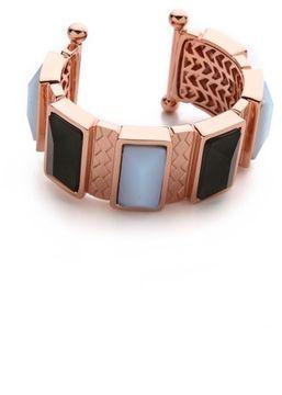 Rebecca minkoff Stone Cuff Bracelet on shopstyle.com