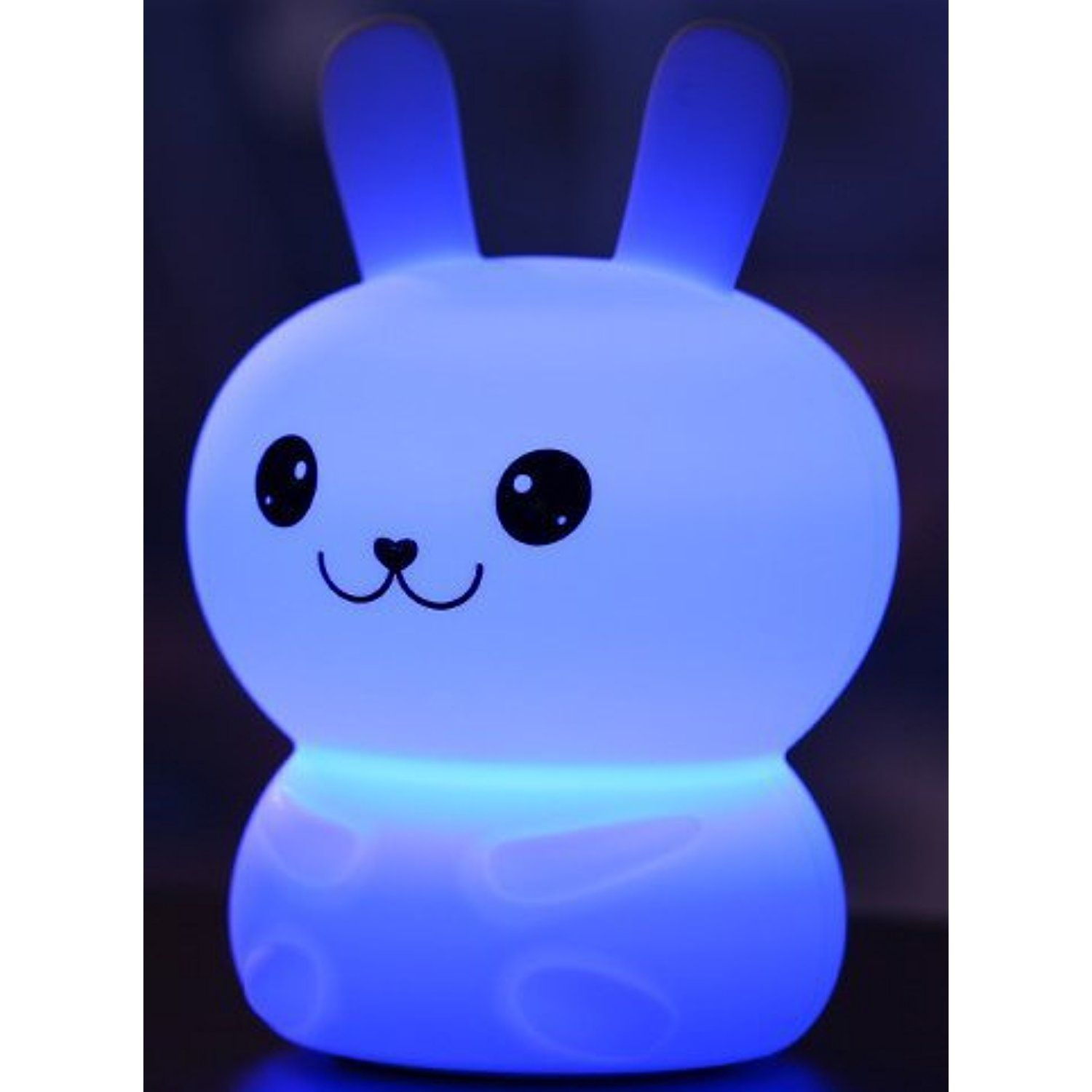 First Fs 30a Children Kids Night Light Led Rabbit Silicone Toy Nightlight Portable Kids Bedside Lamp 3 Light Mode Night Light Kids Night Light Led Night Light
