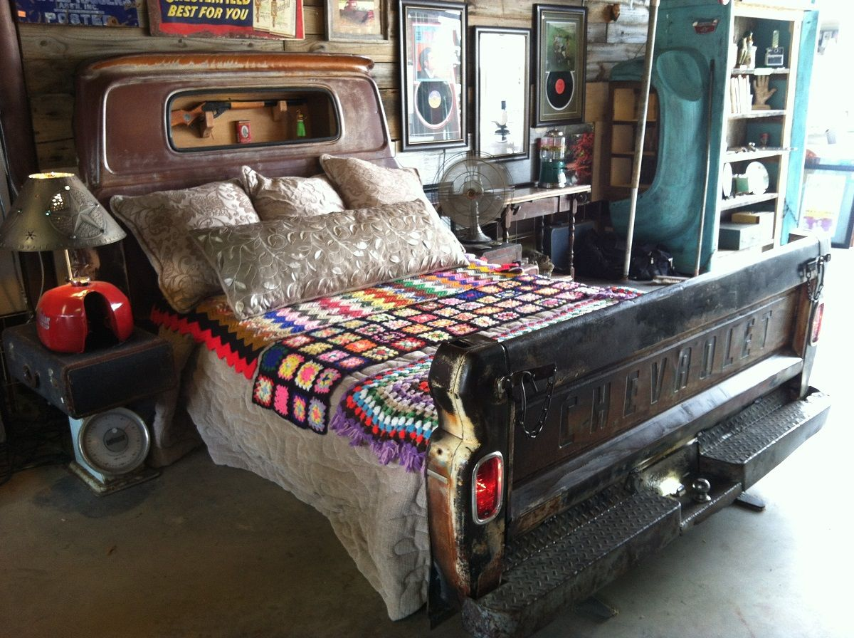 Upcycled Truck Beds, Tractor Kitchens & Dr Pepper Cooler