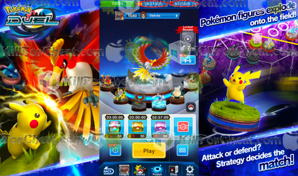 Android pokemon app cheat