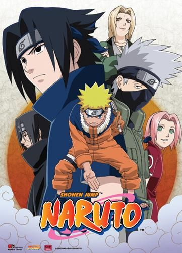 Naruto Leaf Village Group Wall Scroll [PreOrders SoldOUT] 4K