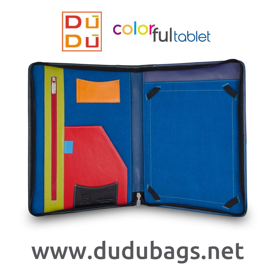 Fall working days - Cartelle portadocumenti colorate. - DuDu Colorful tablet fashion line
