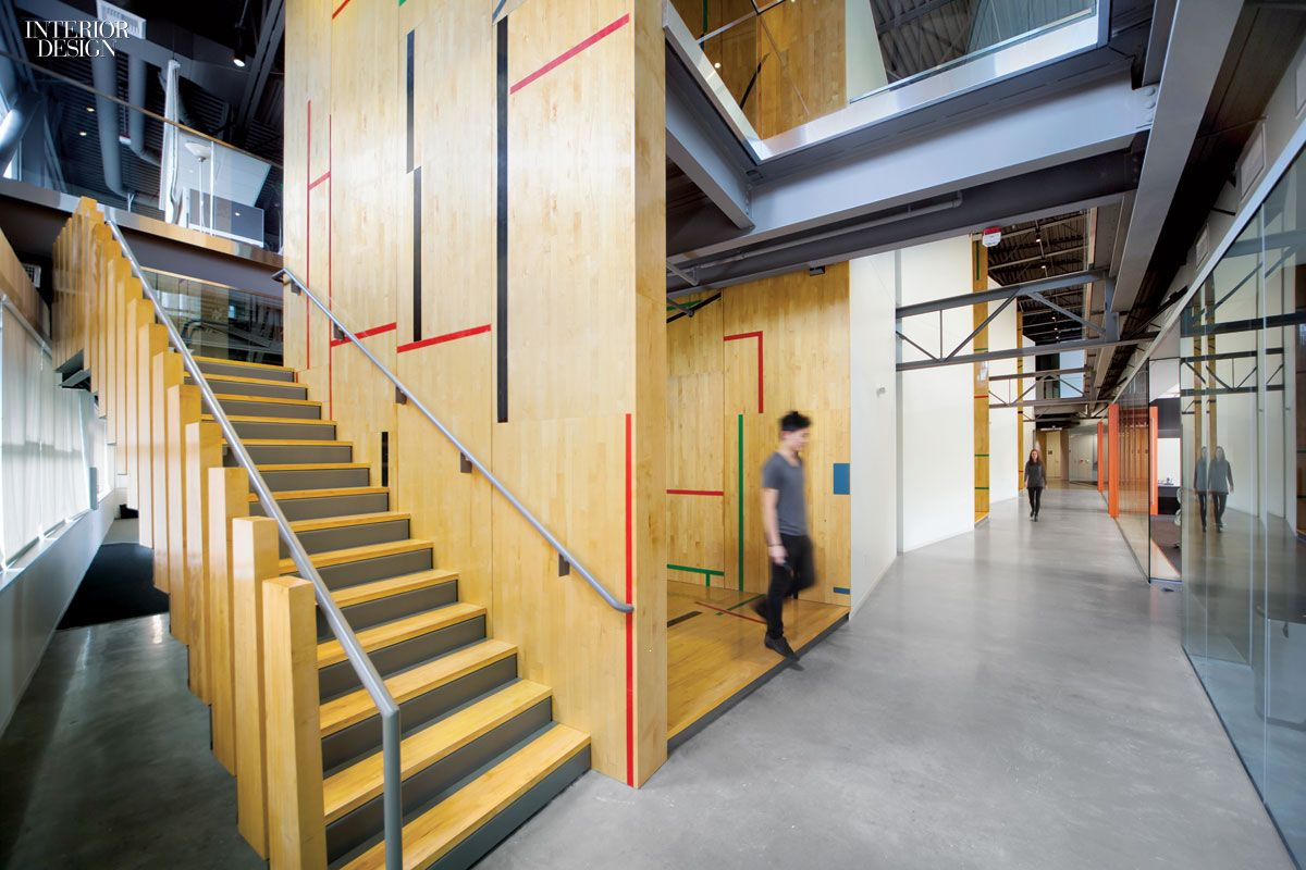 Gensler Adapts Former Gym For Tableau Software Offices Interior Design MagazineOffice