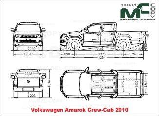 Volkswagen amarok crew cab 2010 blueprints ai cdr cdw dwg volkswagen amarok crew cab 2010 blueprints ai cdr cdw malvernweather Images