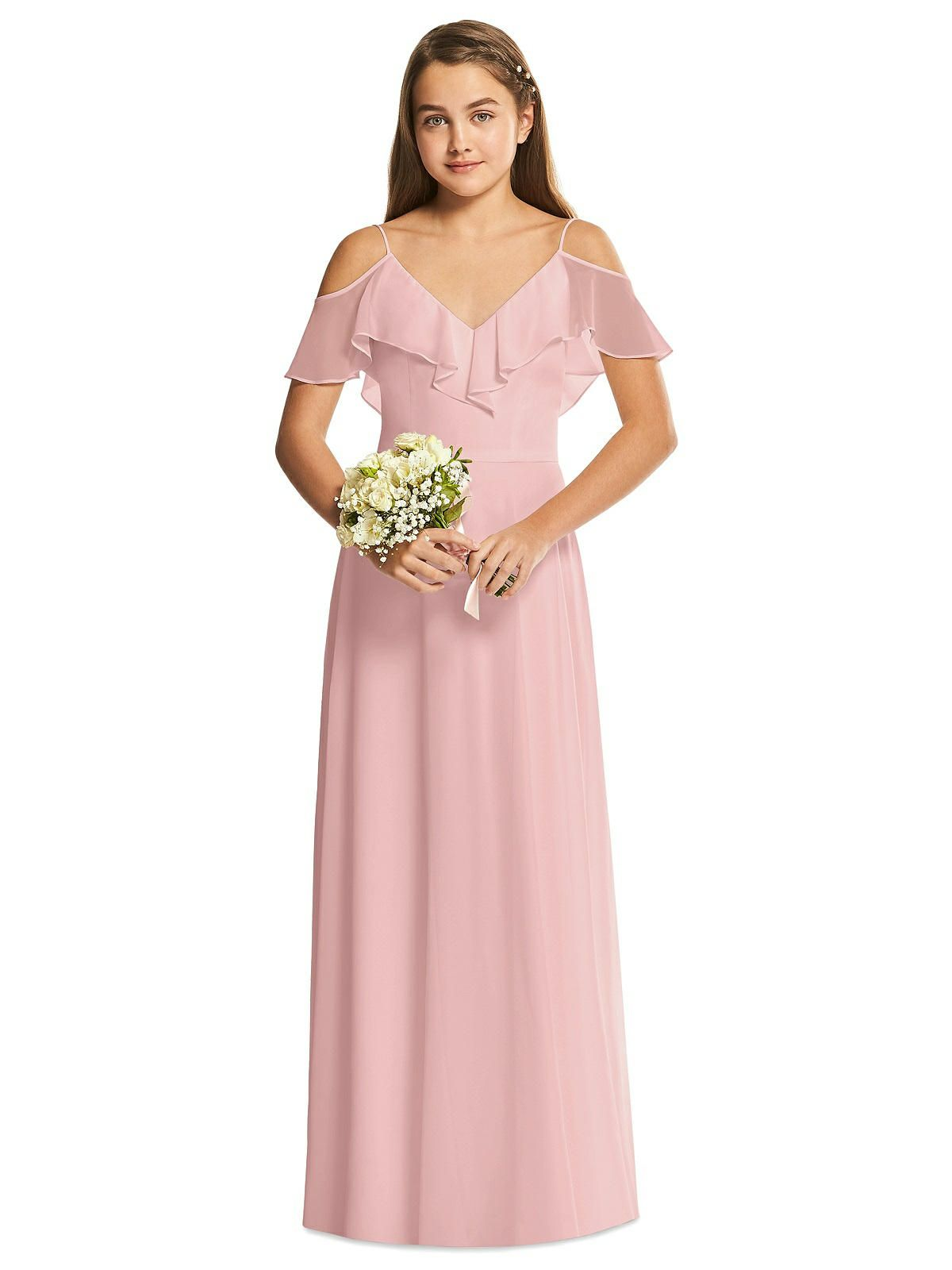 Dessy collection junior bridesmaid dress jr548 junior