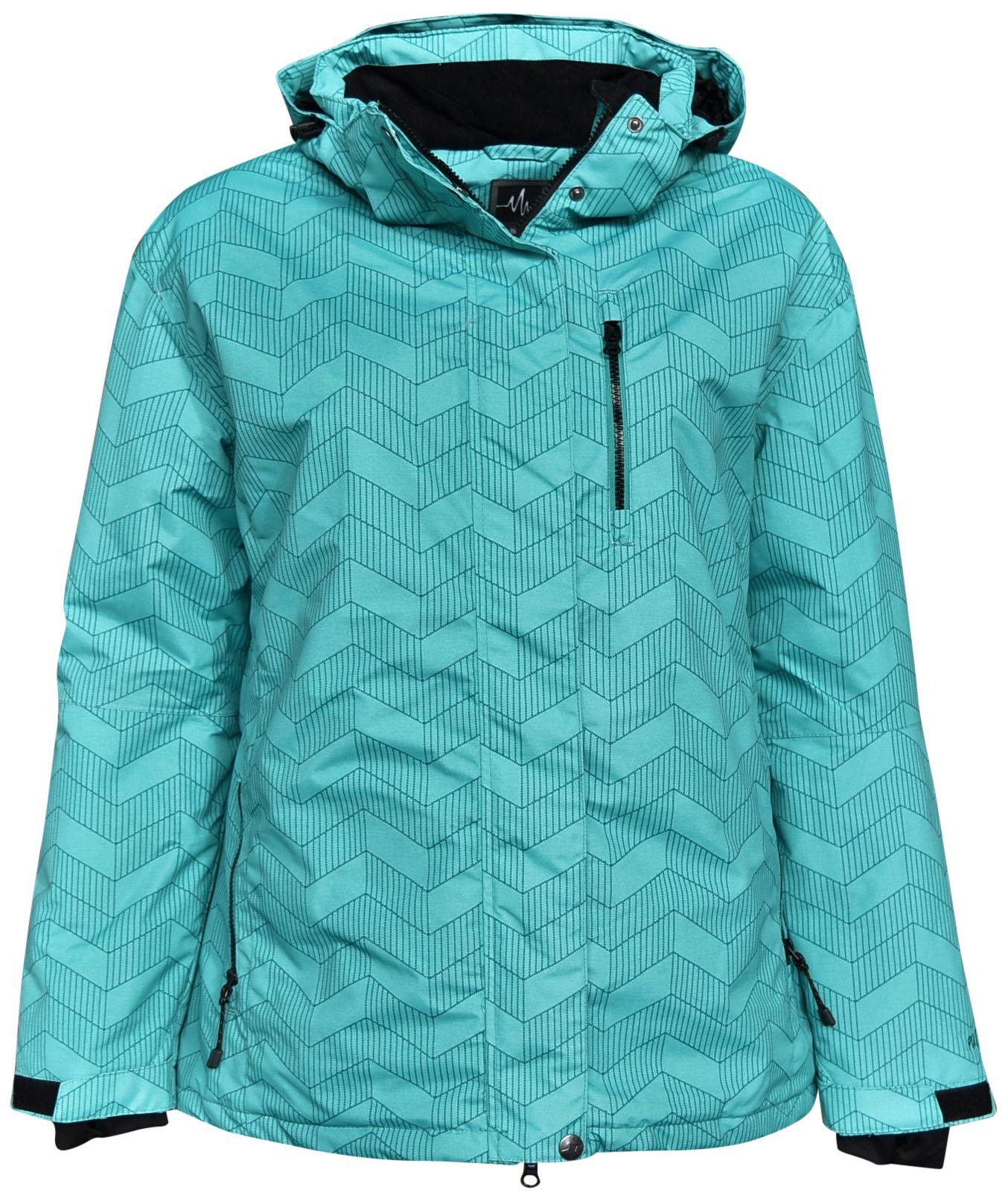 Pulse Women S Plus Size Insulated Ski Jacket 1x 2x 3x 4x 5x 6x Bevel Teal Ski Jacket Ski Jacket Women Fashion Clothes Women [ 1613 x 1354 Pixel ]