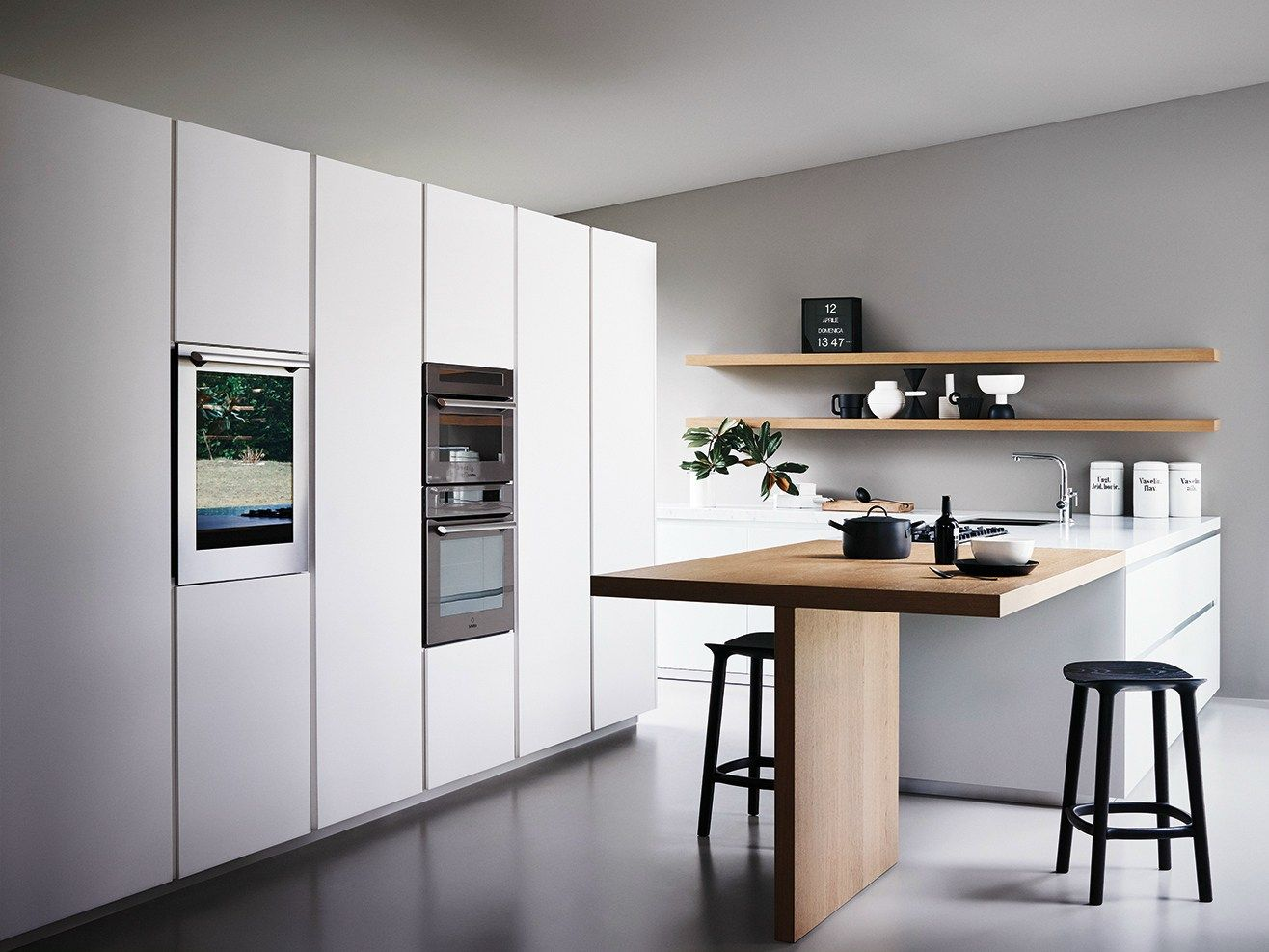 Fitted kitchen with island MAXIMA 16.16 - COMPOSITION 16 by Cesar