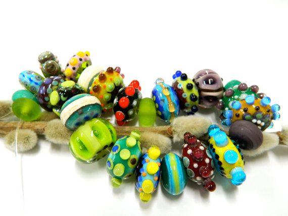 Gypsy Bead Set 25 pieces by Erika Nooteboom  by ErikaNooteboom, €125.00
