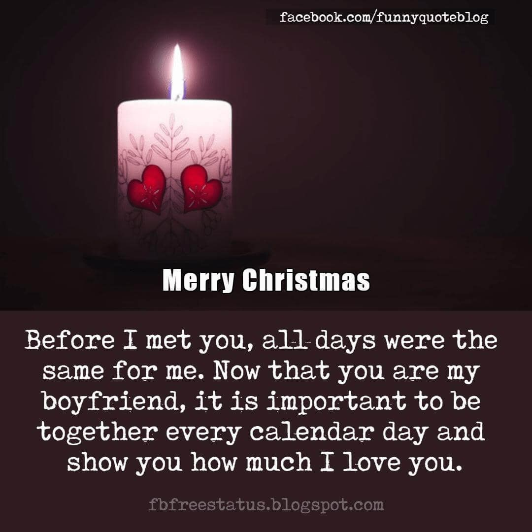 Perfect Christmas Love Messages,Quotes for Girlfriend and ...