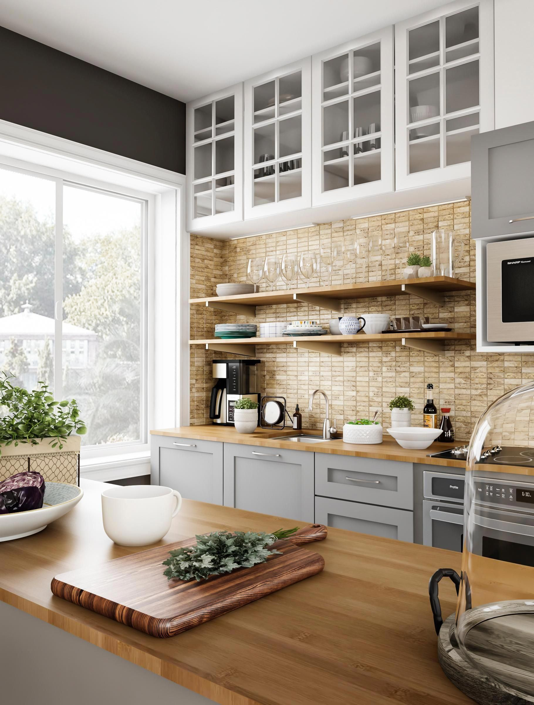 Think You Can Pull Off Gold And Gray You Can Seen In Upscale European Kitchens And Haute Kitchen Remodel Best Kitchen Cabinets Contemporary Kitchen Cabinets