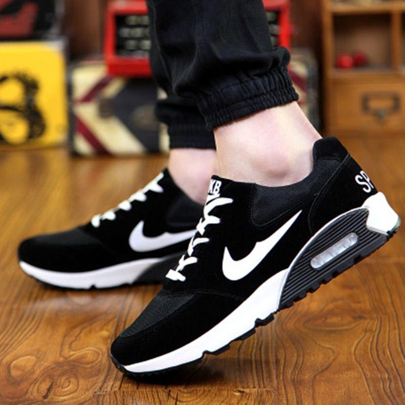 best service b458d 23593 2016 zapatos de hombre de europa y américa moda 3 hombres de color zapatos  casuales zapatos de mujer cómodo cojín 39 ~ 44 DE032 .