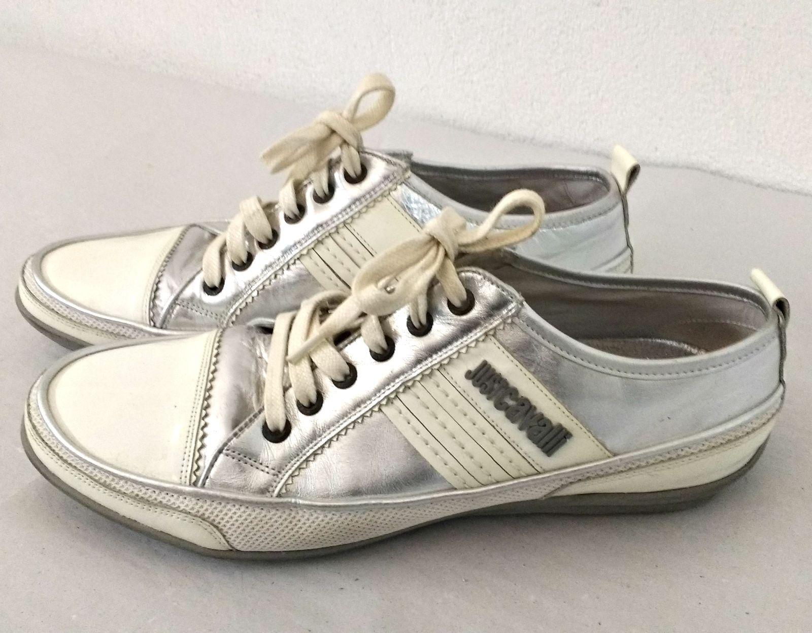 size 40 544a2 65e00 CAVALLI Herrenschuhe Gr 43 Designer Sneaker Sneaks Herren ...