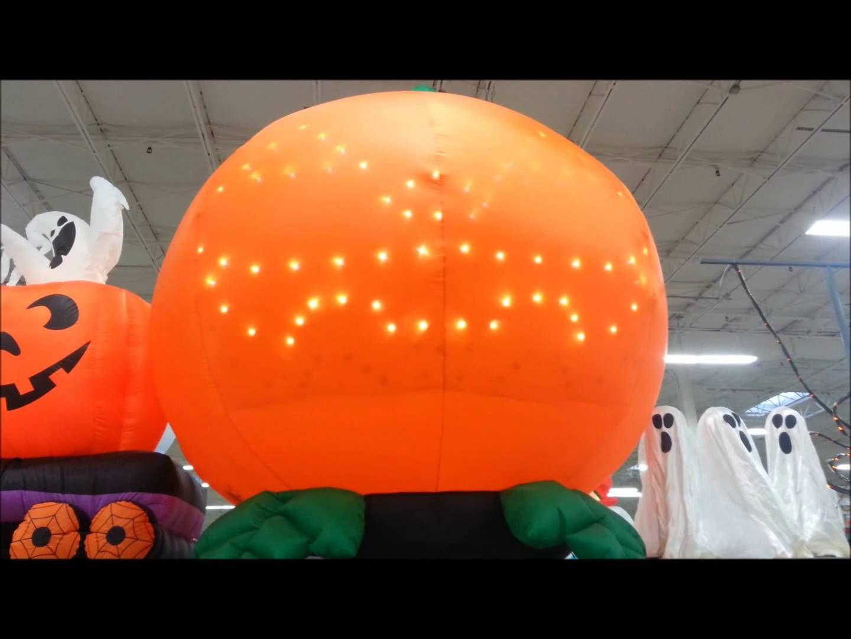 Gemmy Airblown 8 Inflatable Pumpkin with LightShow ...