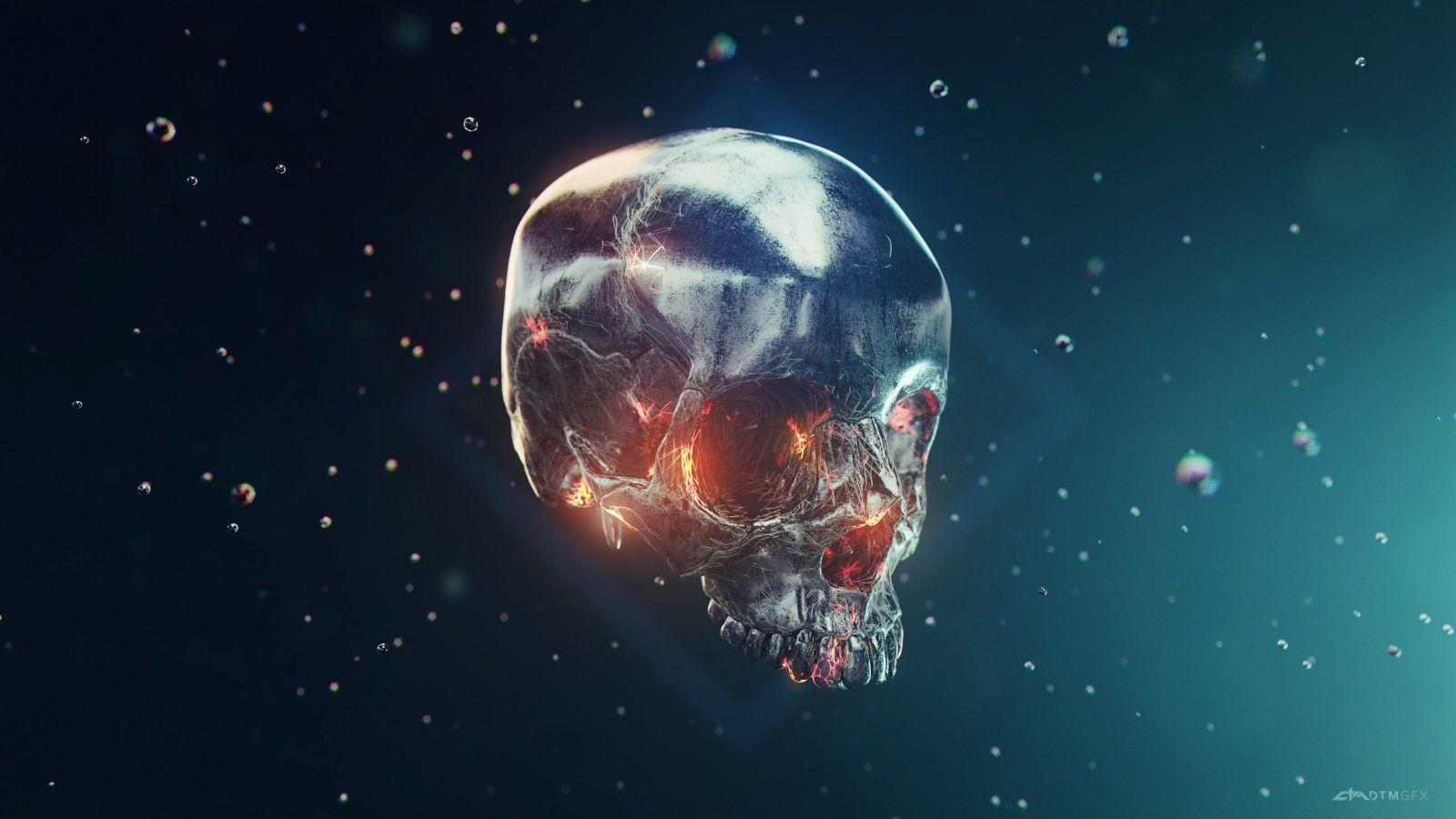Misc Iron Skull 4k Wallpapers Wallpaper De Tela