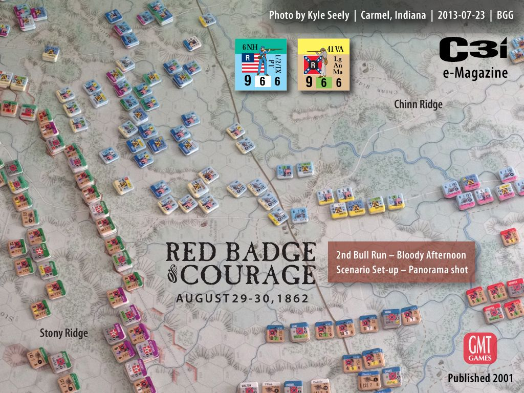 GMT Games Red Badge of Courage from the Great Battles of