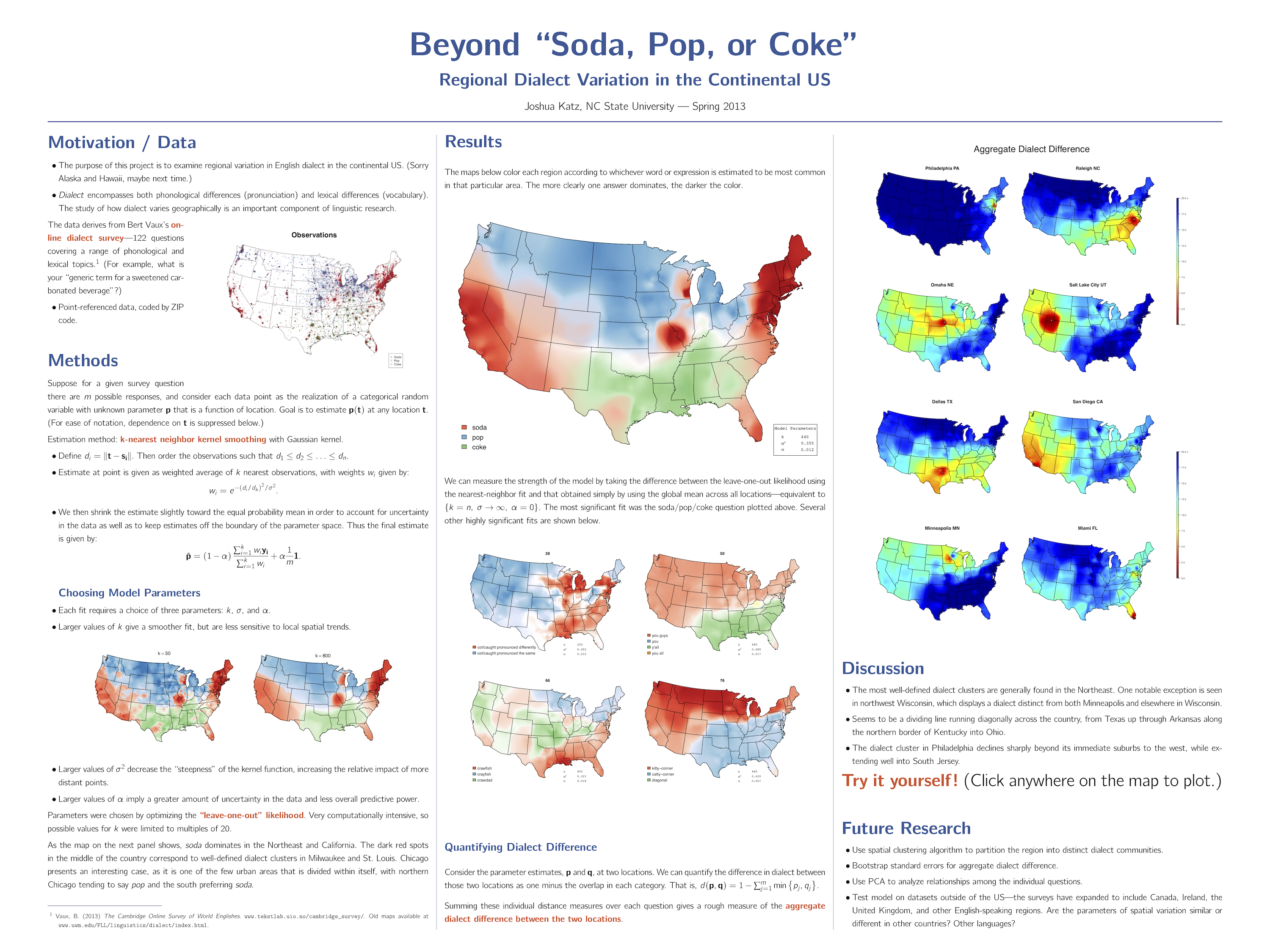 Beyond Soda Pop or Coke Regional Dialect Variation in the