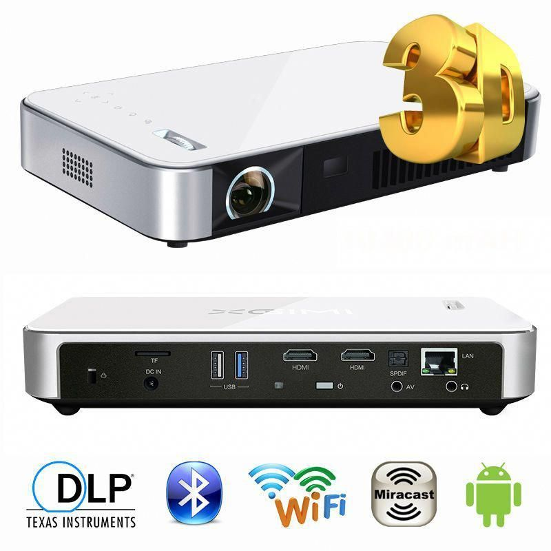 Z3+ SLP 1280x800 MINI DLP projector Android 4 4 LAN WIFI