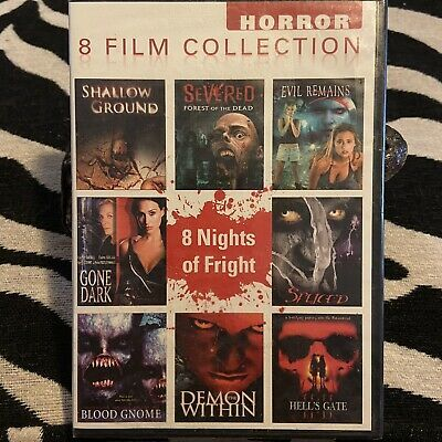 Horror 8 Film Collection - 8 Nights of Fright Scary Movie Collection (DVD) | eBay