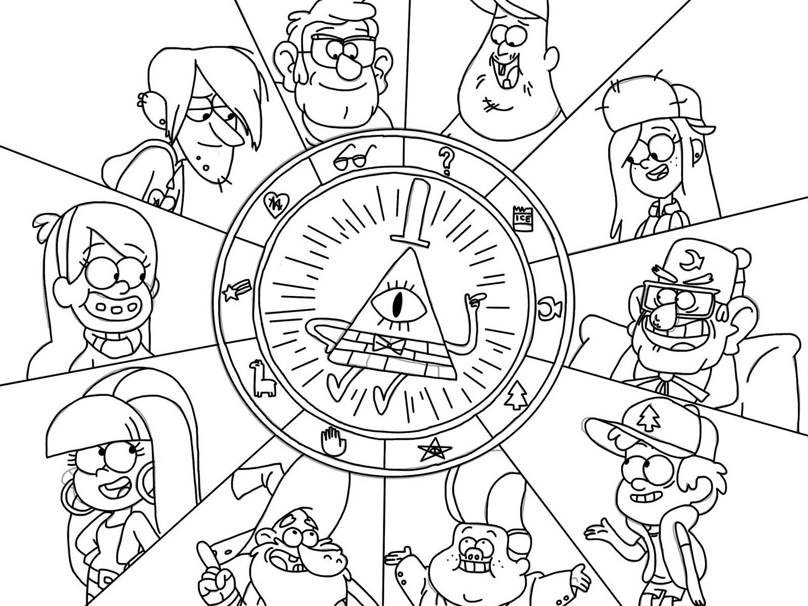 Members of the cipher wheel gravity falls pinterest gravity members of the cipher wheel biocorpaavc