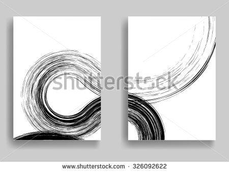 Grunge Black And White Distress Texture  Graffiti  Paint  Ink