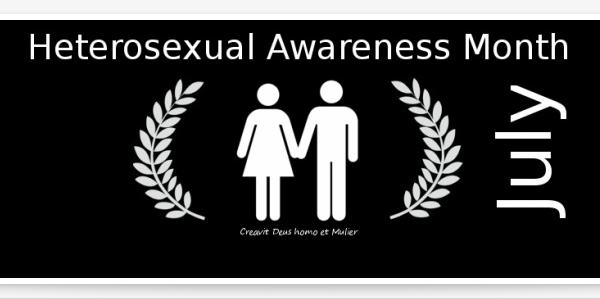 Heterosexual awareness month real