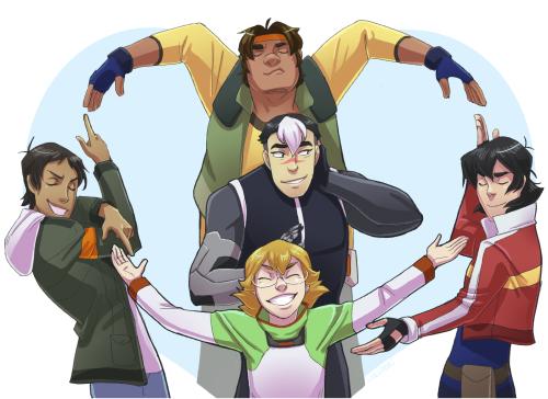 Everybody loves Shiro. - Voltron: Legendary Defender