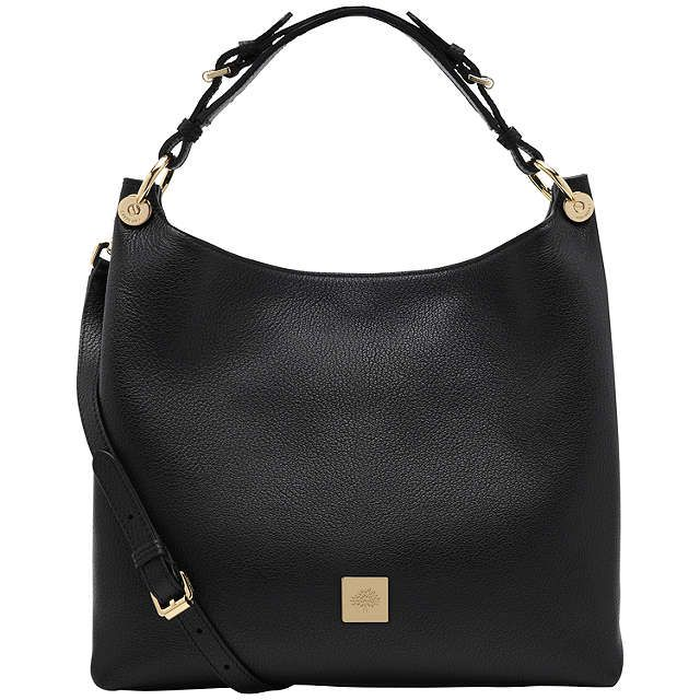 cc57e925bf ... coupon code for buymulberry freya small leather hobo bag black online  at johnlewis 1d531 2178a coupon for buymulberry bayswater ...