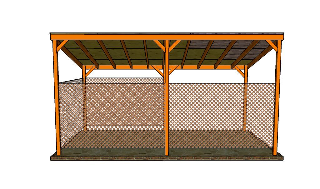 How to build a lean to carport Lean to carport, Lean to