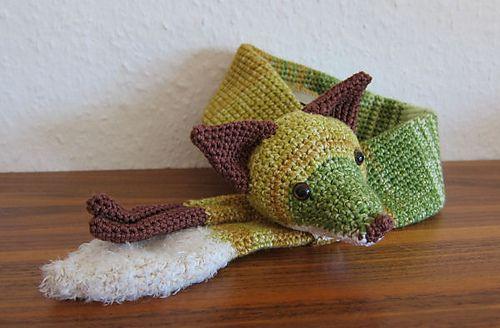 Ravelry: Fox Scarf pattern by Stephanie Koras
