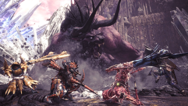 Monster Hunter World S New Behemoth Fight Requires A Different Mindset Monster Hunter World Monster Hunter Series Monster Hunter
