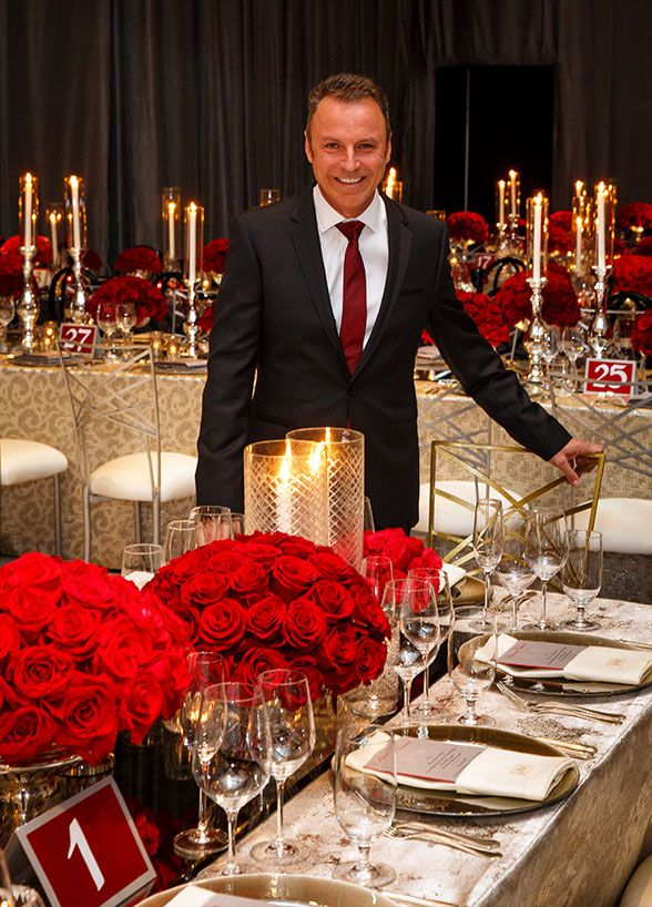 Formal Dinner, Birthday Celebration Ideas, Red || Colin ...