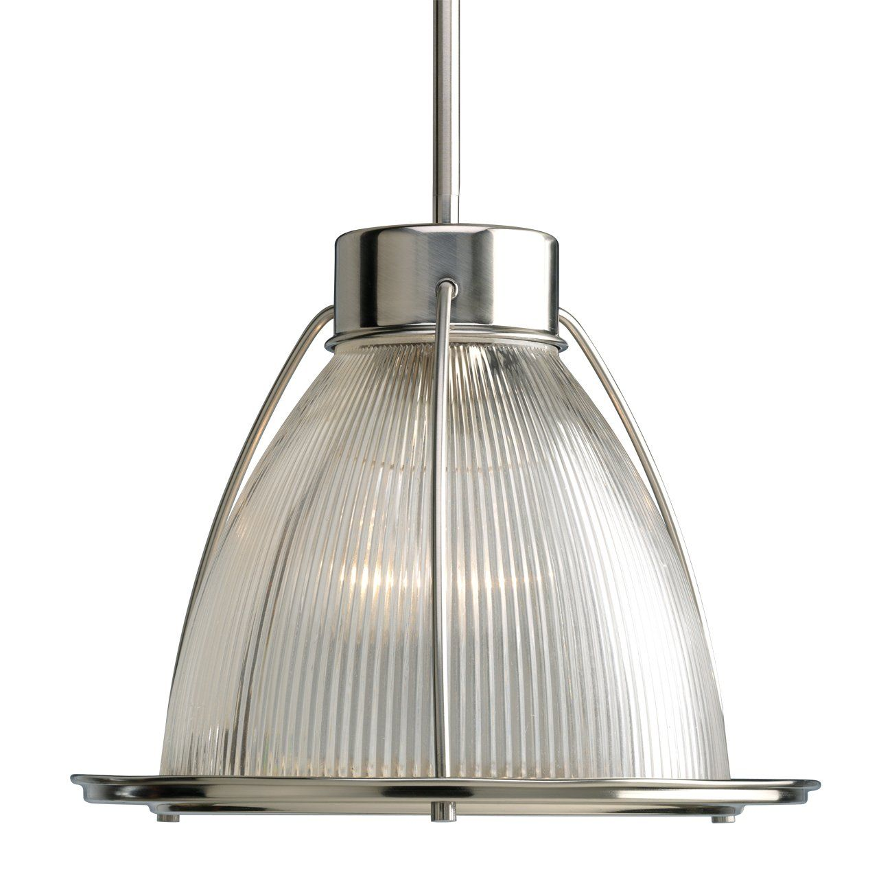 Progress lighting p kitchen mini pendant brushed nickel