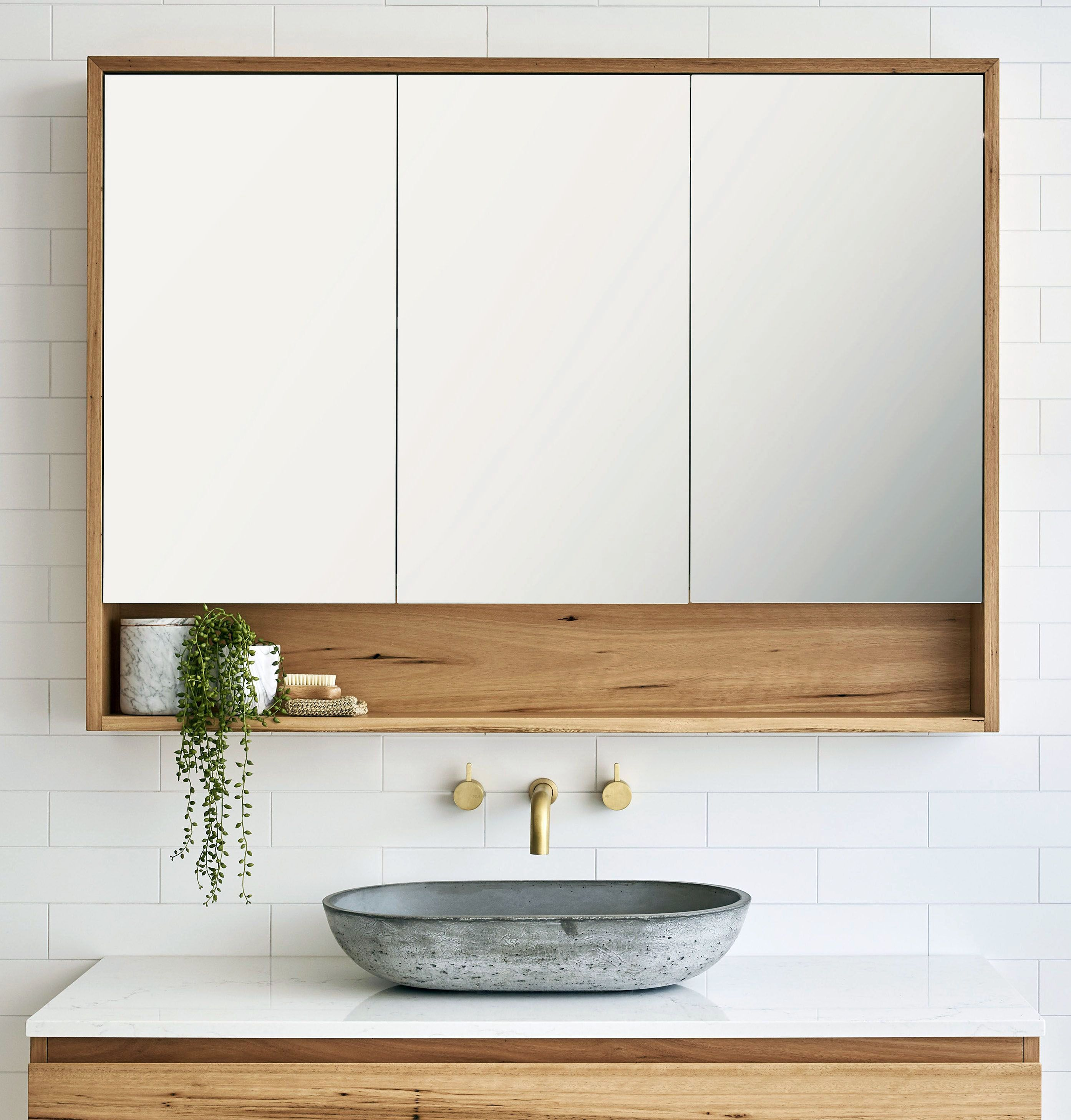 There Is Actually A Tiny Restroom Style Transformation And You Ll Passion These Rule Breaking Styles Bathroom Mirror Design Concrete Bathroom Rustic Bathroom Lighting