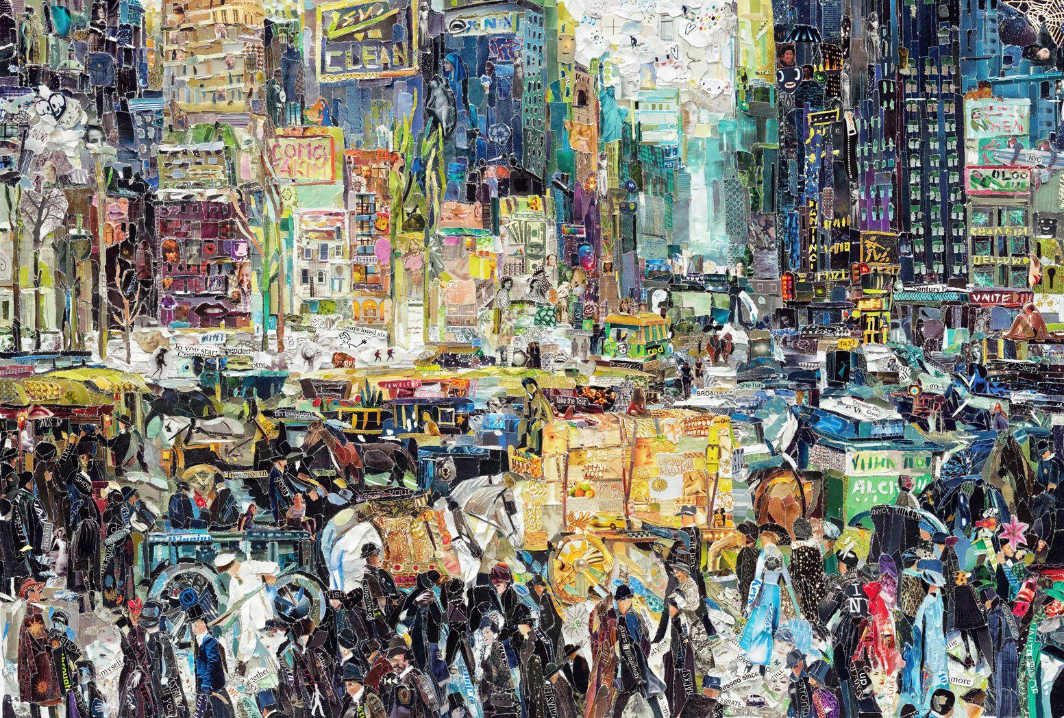 New York After Bellows Vik Muniz Surreal photos, New