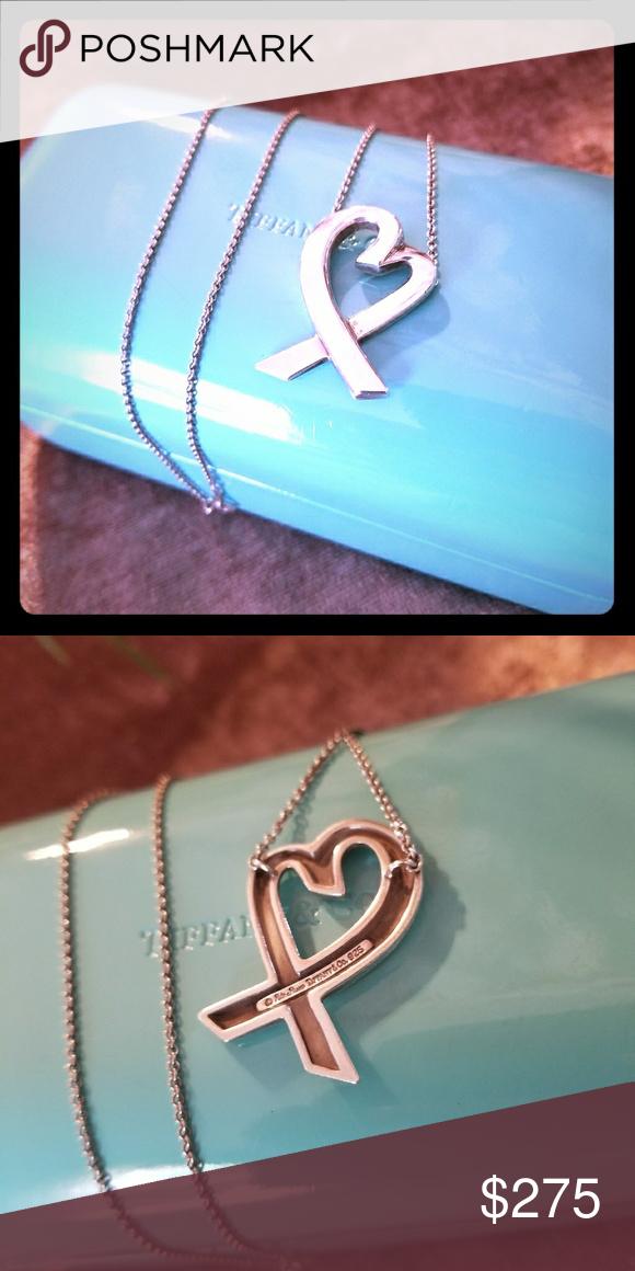 Tiffany's & Co Loving Heart Pendant Beautiful Piece Tiffany & Co. Jewelry Necklaces