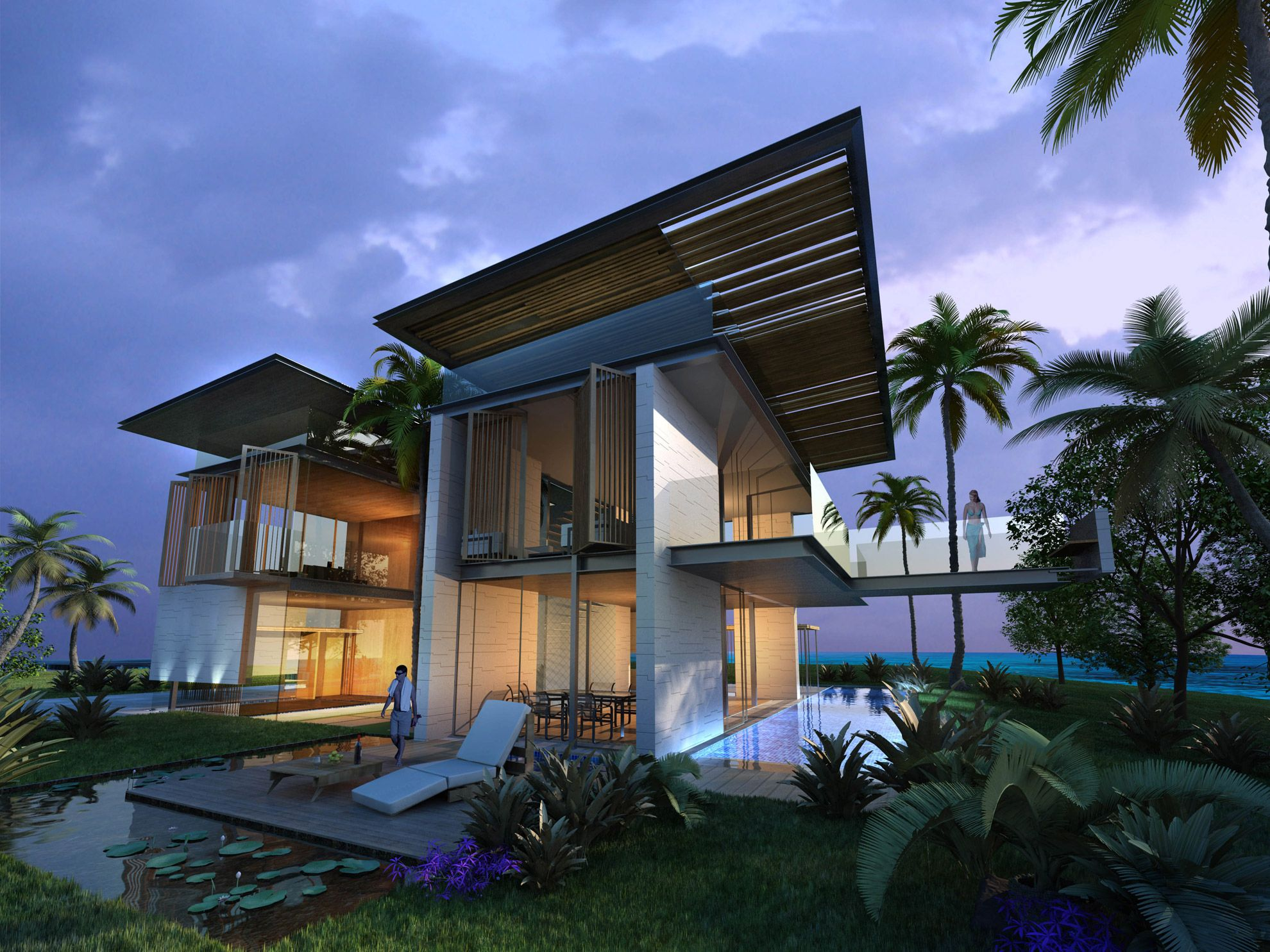luxury residential houses architects hainan island - Google Search ...