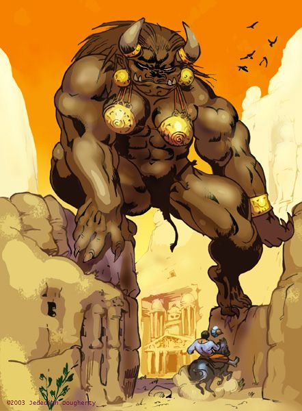 SciFi and Fantasy Art Ogress by Jedediah Dougherty