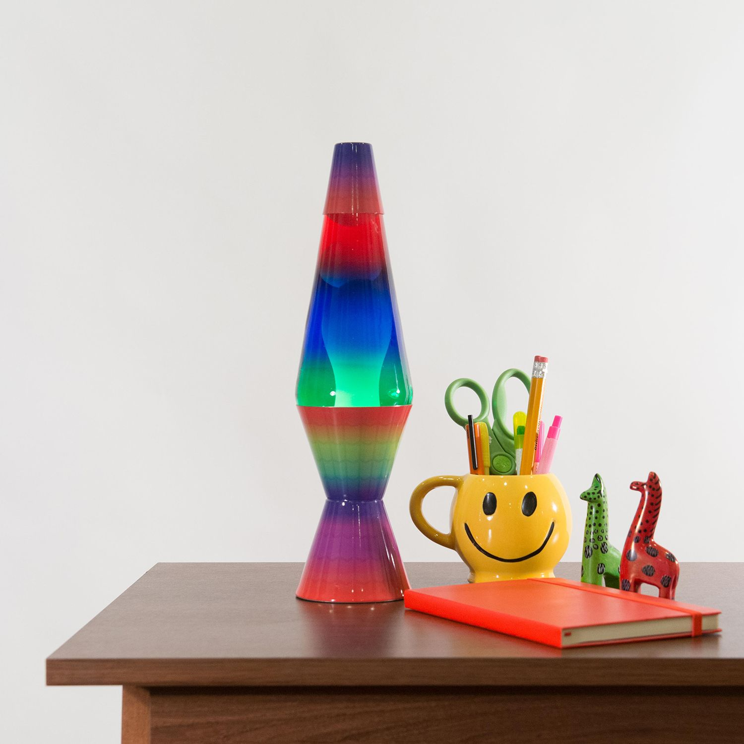 2140 Lava Lamp Rainbow Decal Soft Lighting