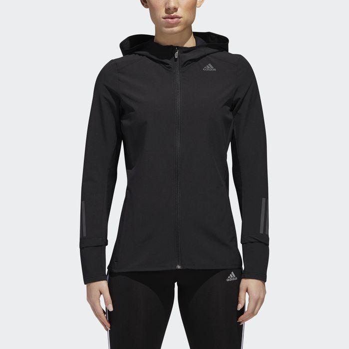 adidas Response Womens Ladies Running Fitness Jacket Coat