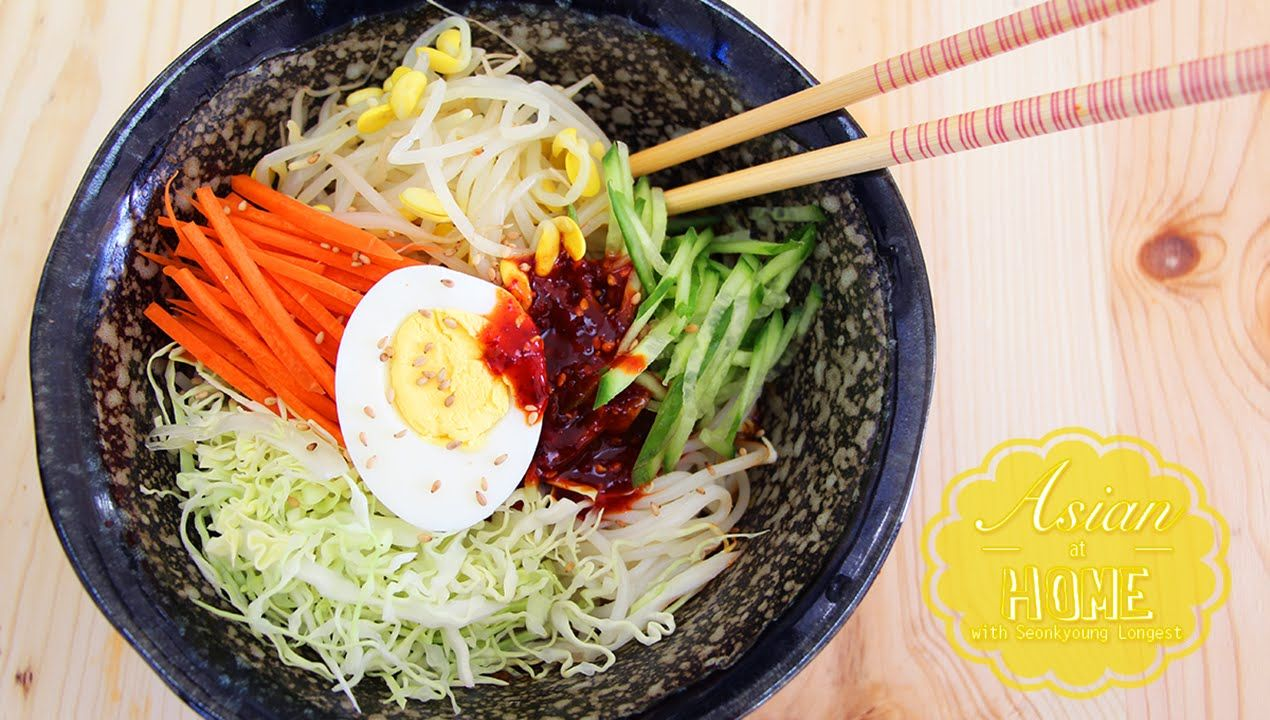 Jjolmyeon recipe korean spicy cold chewy noodles jjolmyeon recipe korean spicy cold chewy noodles youtube korean food recipeshealthy forumfinder Choice Image