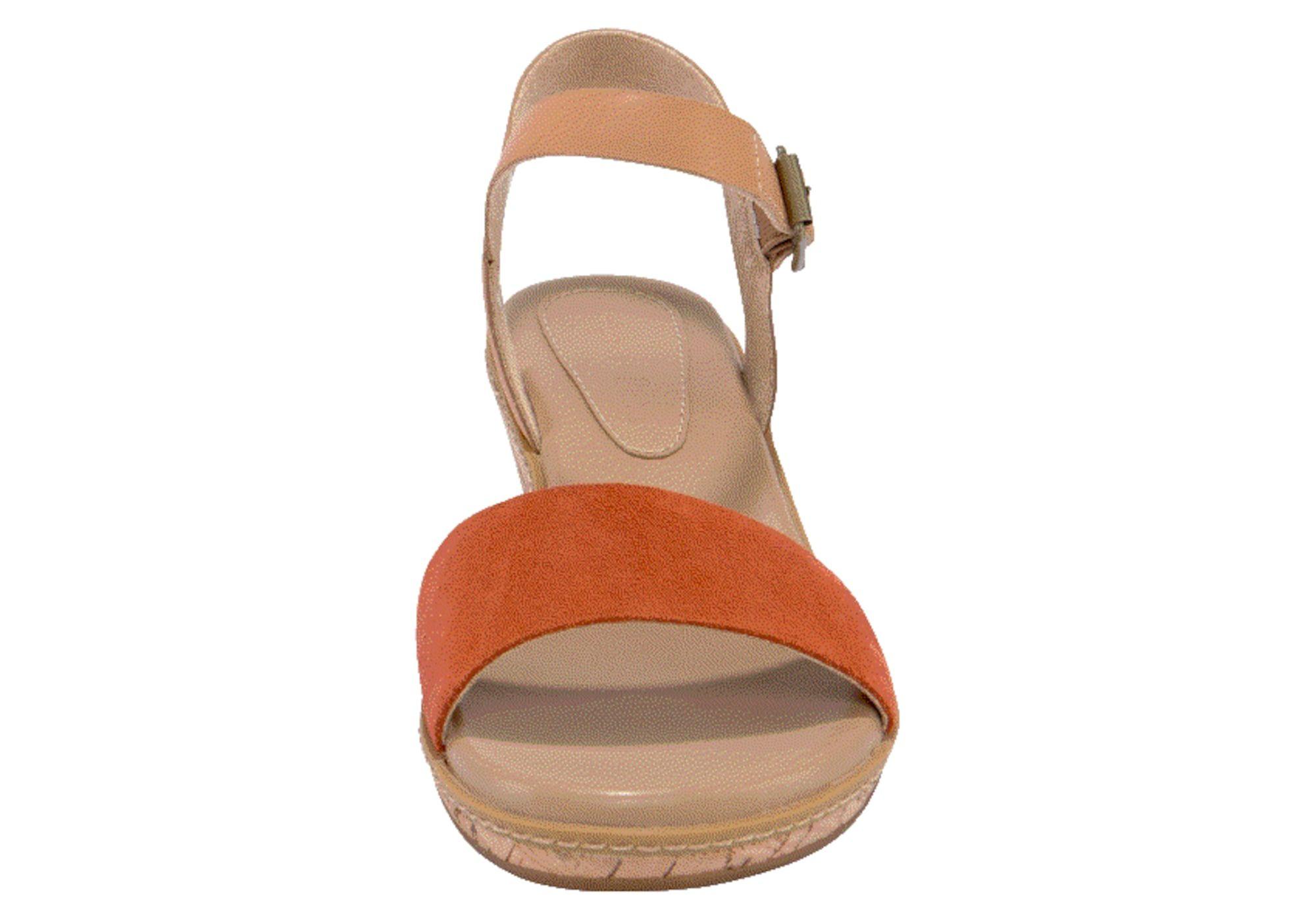 TIMBERLAND Sandale 'Whittier Sandal' Damen, Orangerot, Größe