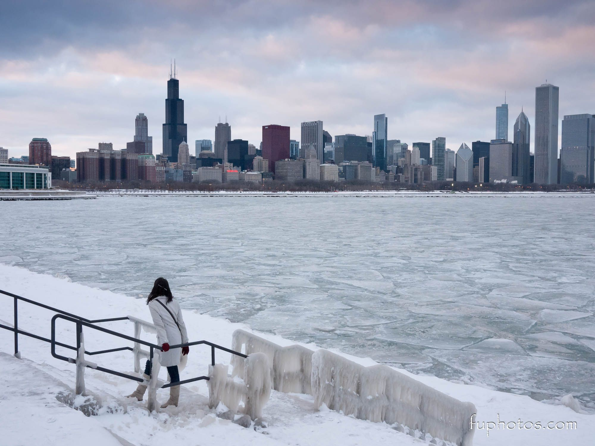 Related Image Chicago Skyline Chicago Winter Winter Photograph