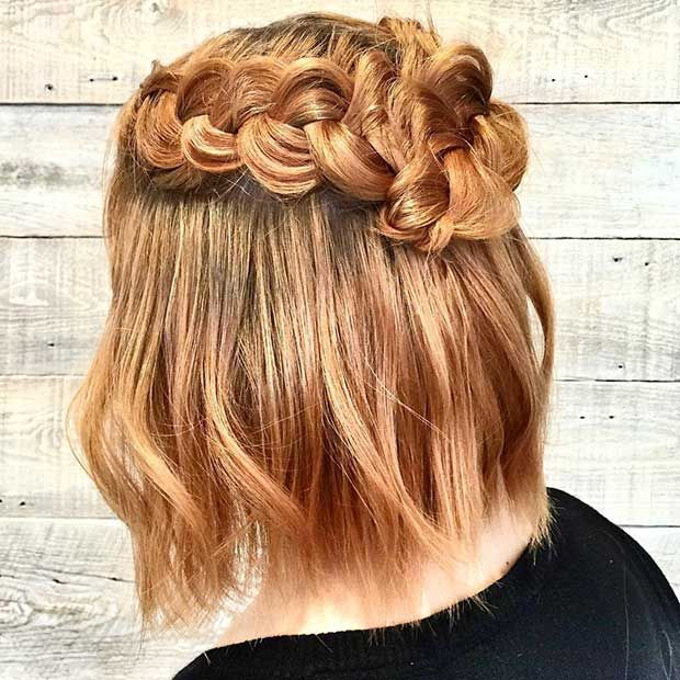 Half Up Half Down Hairstyles For Straight Hair: 31 Half Up, Half Down Hairstyles For Bridesmaids
