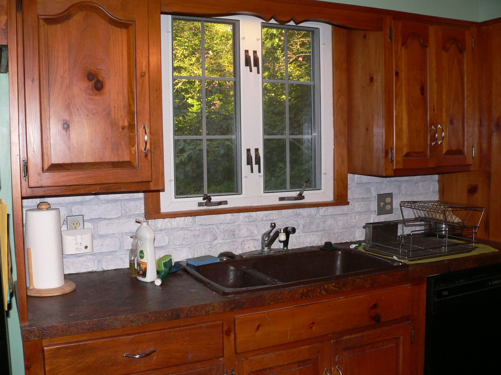 Window under kitchen cabinets  cool perfect kitchen nook bay window ideas  kitchen ideas  pinterest