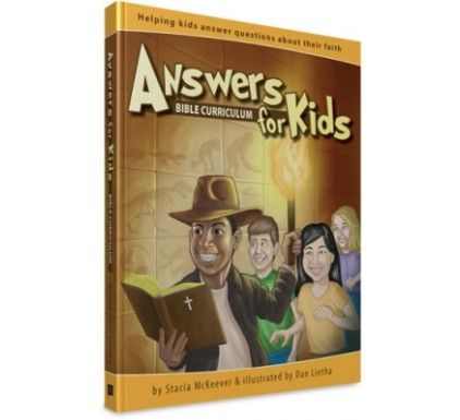 $23.99 Answers For Kids Bible Curriculum